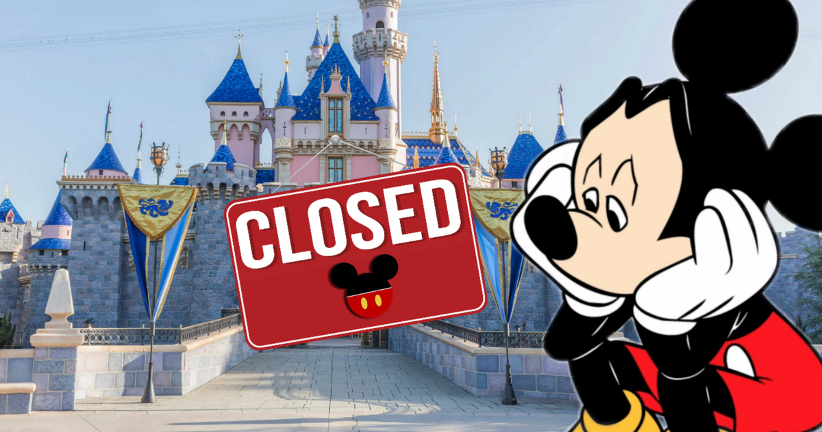 Fermeture Disneyland