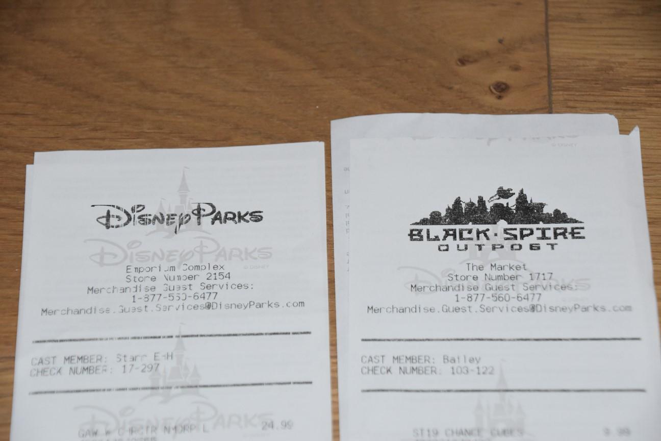 Tickets de caisse