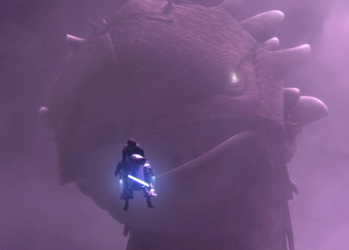 R2 sauve Anakin