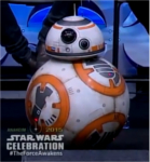 BB-8 a fait son petit effet lors de la convention annuelle Star Wars Celebration
