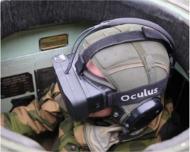 L'OculusRift dans un char