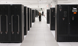 Exemple de datacenter chez IBM