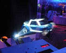 Un système de projection qu'on pourrait retrouver sur R2D2 !