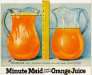 Minute Maid. Le nom de la marque est basé sur un jeu de mots: maid (domestique) made (faire)