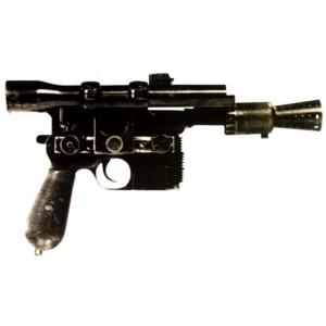 Le pistolet laser DL44