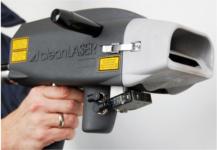 Le pistolet laser de Clean Laser