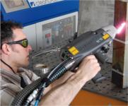 L'un des modèles de Clean Laser en action