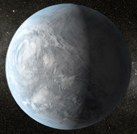 Vue d'artiste de Kepler-62-e