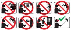 Les consignes de sécurité de WICKED LASER