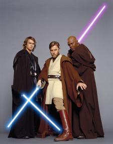 Sabres laser des Jedi