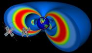 Les deux satellites EMFISIS (vue d'artiste)