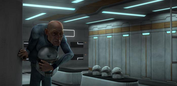 99 dans les vestiaires des soldats clones sur <a href=