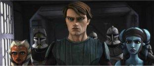 Anakin Skywalker et sa padawan viennent en aide à Aayla Secura