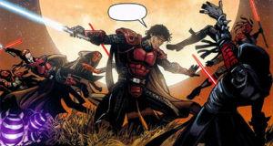 Antares et Ganner affronte des Sith sur Vendexa, pour secourir la pricesse Marasiah