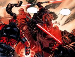 Déguisé en Sith, Antares affronte les gardes de Korriban pour permettre à Ganner Krieg et Shado Vao de libérer la princesse