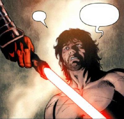 Antares capturé par les Sith, est interrogé par son ancien maître, qui a rejoint les Sith sous le nom de Dark Havoc