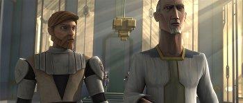 Almec escorte Obi-Wan Kenobi jusqu