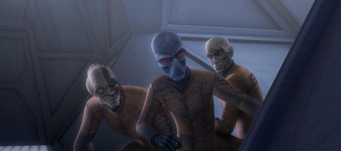 Obi-Wan Kenobi déguisé en Hardeen