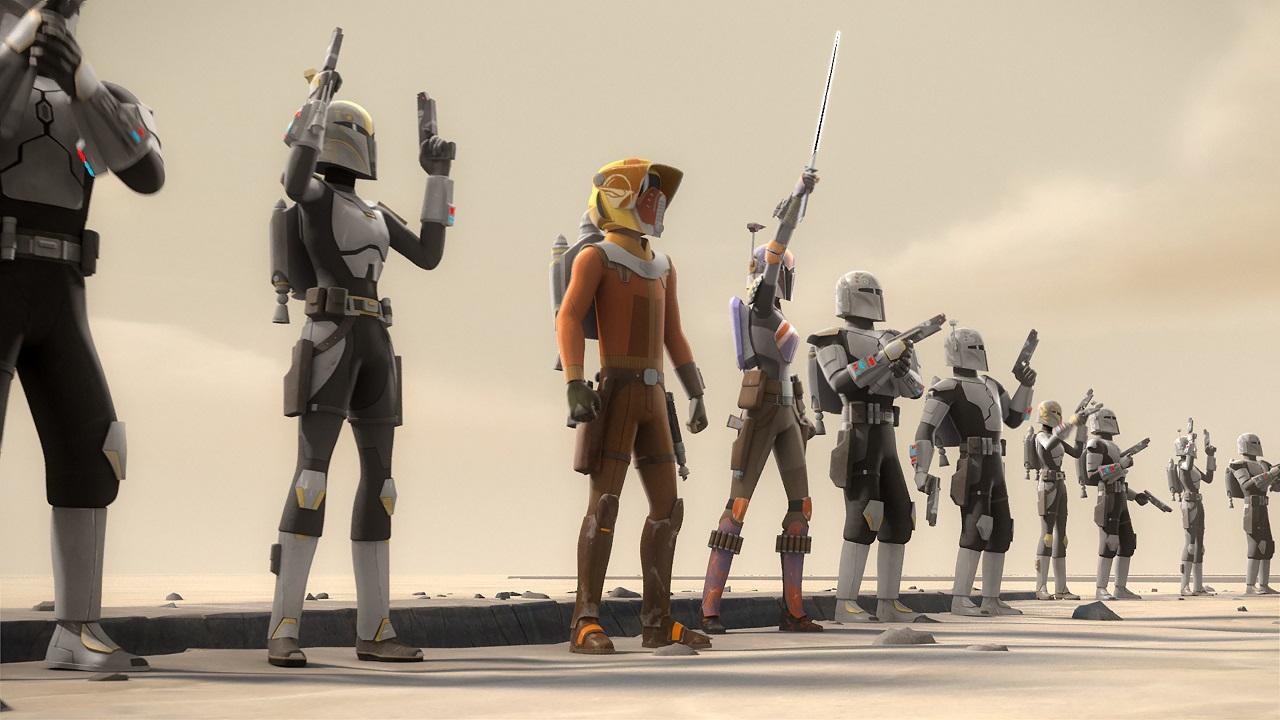 Star Wars Rebels Personnalisé Têtes Sabine Wren Hasbro Série Black
