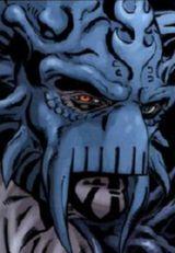 Dark Krayt avec son masque