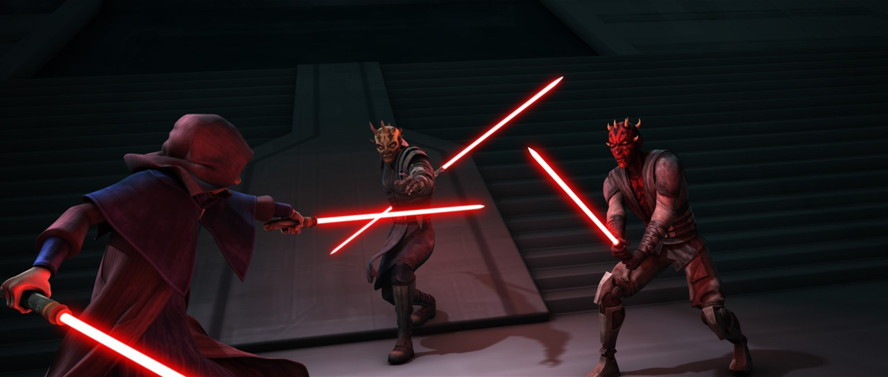 Dark Sidious vs Maul & Opress