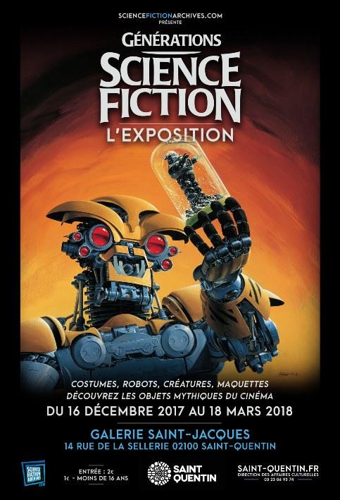 Génération SF à Saint Quentin (expo)