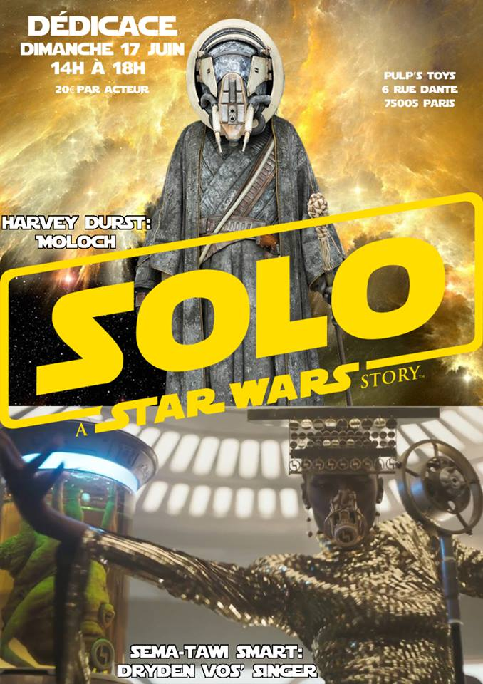 acteurs Solo chez pulp's