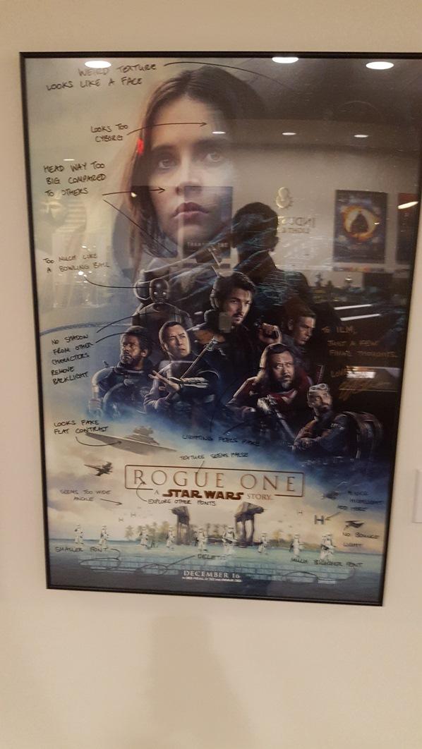 Poster signé