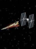 Animation 3D de 2 vaisseaux