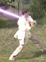 Effet sabre laser