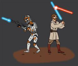 Commandant Cody & Général Kenobi