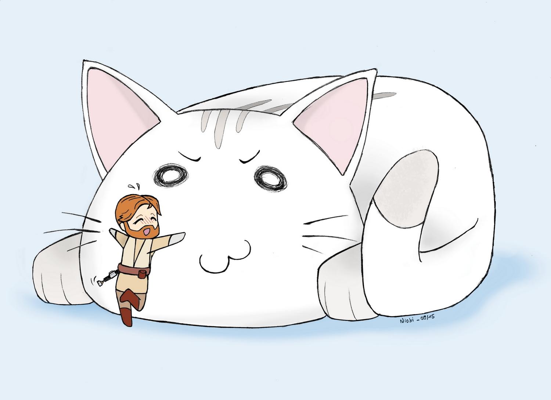 Kenobi & Cat
