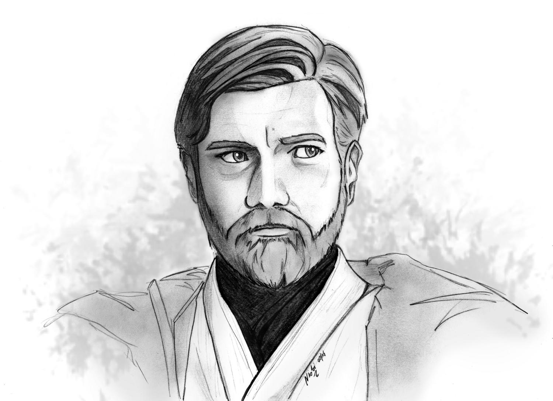 Obi Wan Kenobi Repro 5 Fan Arts Star Wars Universe