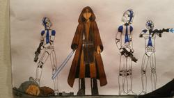 Les clones attaquent le Temple Jedi