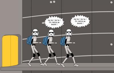 Rentrée chez l'Empire