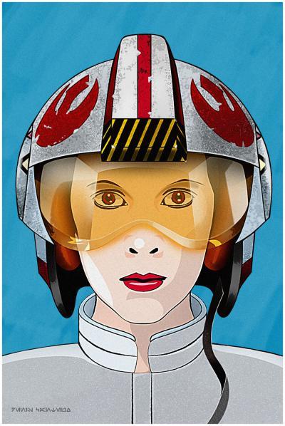 Leia, give me back my helmet