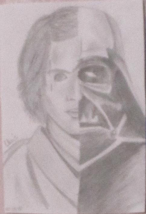 Anakin Skywalker Vs Dark Vador Fan Arts Star Wars Universe