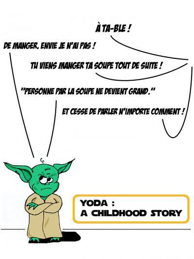 Yoda : A Childhood Story