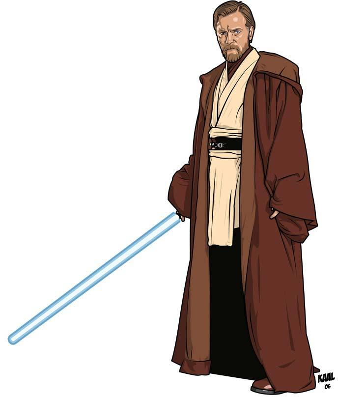 Obi Wan Kenobi Dans La Revanche Des Sith Fan Arts Star Wars