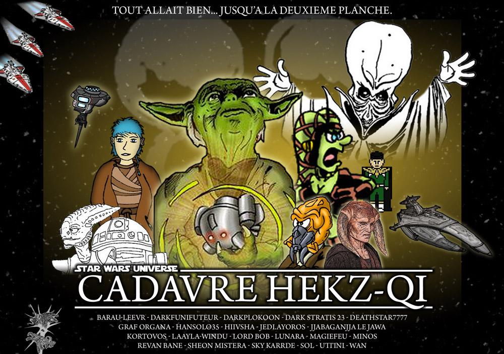 Cadavre Hekz-Qi : la couverture
