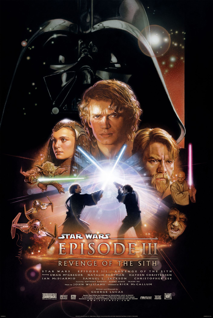 Affiche Revanche des Sith