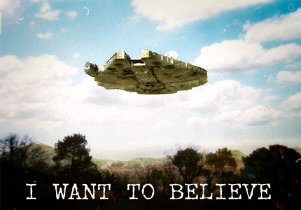 Jedi Rieur #41 : I want to believe