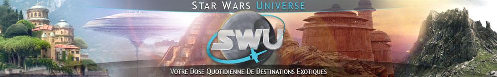 Bannière Star Wars : Destinations Exotiques
