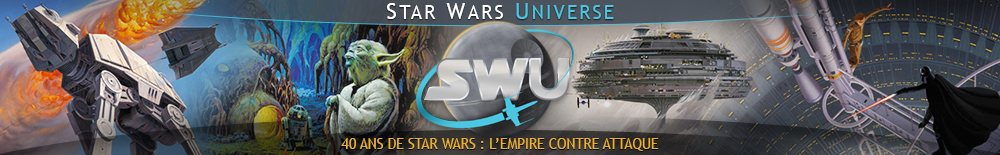 Bannière Star Wars : 40 ans de Star Wars : l'Empire contre attaque