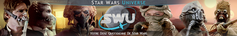 Bannière Star Wars : May the mask be with you