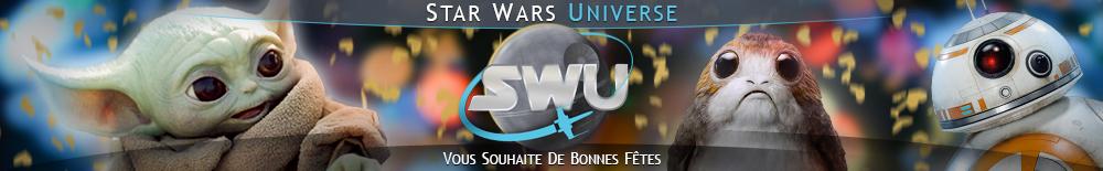 Bannière Star Wars : Fêtes de fin d'année 2020