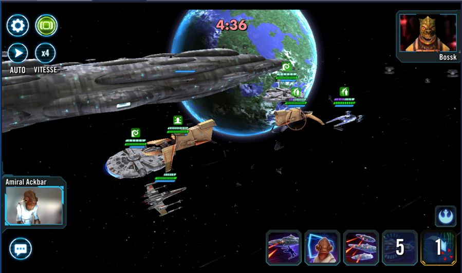 Galaxy of Heroes partie 5