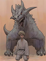 Luminara Unduli 2005 Star Wars Revenge of the Sith revenge of the Sith Comme neuf on Card #31