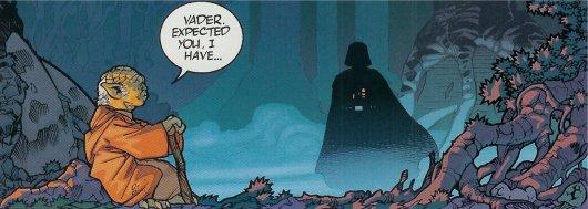 Yoda et Vader