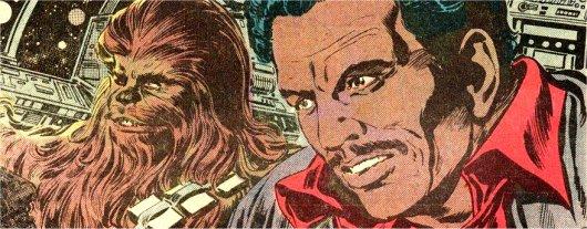 Lando et Chewie